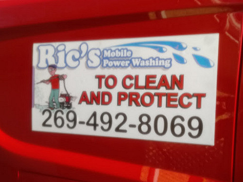 Ric S Mobile Power Washing Deck Cleaning Deck Staining Powerwash Siding Gutter Cleaning Gutter Guard Installation Berrien County Southwestern Michigan